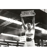 Norma Rae Sally Field 16x20 Canvas Giclee Holding Union Sign - $69.99