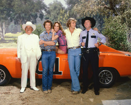 Dukes Of Hazzard 16x20 Canvas Giclee Cast By General Lee - $69.99