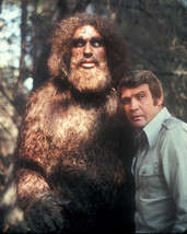 The Six Million Dollar Man Lee Majors Bigfoot 16x20 Canvas Giclee - $69.99