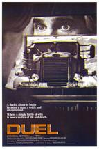 Duel Dennis Weaver 1955 Peterbilt 281 Truck Steven Spielberg 16x20 Canva... - $69.99