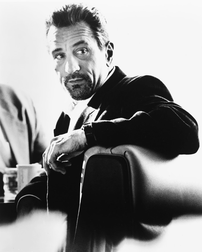 Primary image for Robert De Niro Heat In Diner B&W 16x20 Canvas Giclee