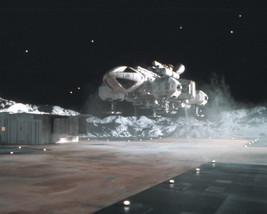 Space: 1999 16x20 Canvas Giclee Eagle Lands On Moon Base Alpha - $69.99