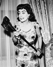 Joan Crawford Straight Jacket Holding Axe 16x20 Canvas Giclee - $69.99