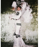 My Fair Lady Audrey Hepburn 16x20 Canvas Giclee Feather Costume Hat - $69.99