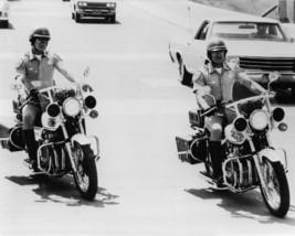 Larry Wilcox, Erik Estrada Chips 16x20 Canvas Giclee Police Motorbikes - $69.99