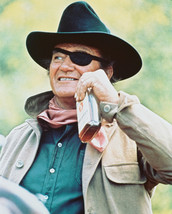 True Grit John Wayne 16x20 Canvas Giclee Whisky Bottle Classic - $69.99