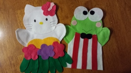 Hello Kitty Puppet - $12.00