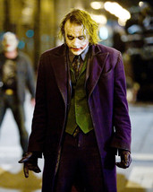 Heath Ledger The Dark Knight 16x20 Canvas Giclee In Costume As The Joker - $69.99
