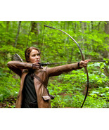 Jennifer Lawrence The Hunger Games 16x20 Canvas Giclee Firing Bow And Arrow - $69.99
