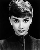 Audrey Hepburn Stunning Head Shot 1950' B&W 16x20 Canvas Giclee - $69.99