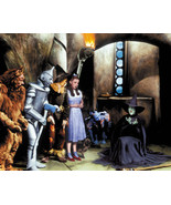 The Wizard Of Oz Color Wicked Witch 16x20 Canvas Giclee - $69.99