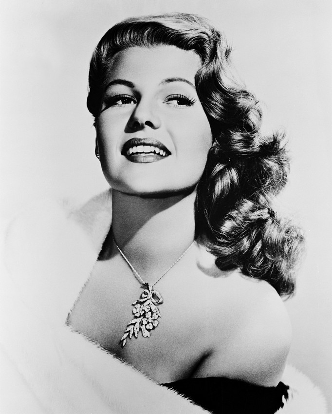 Primary image for Rita Hayworth B&W Sexy Looking 16x20 Canvas Giclee