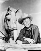 Roy Rogers And Trigger B&W 16x20 Canvas Giclee - $69.99