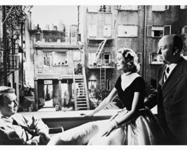 Alfred Hitchcock Grace Kelly James Stewart Rear Window 16x20 Canvas On Set Rare - $69.99