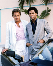 Miami Vice 16x20 Canvas Giclee Philip Michael Thomas Don Johnson By Car - $69.99