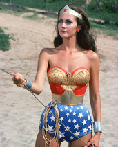 Lynda Carter Wonder Woman Color 16x20 Canvas Giclee - $69.99