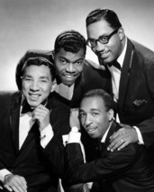 Smokey Robinson & The Miracles In Tuxedo Cool 1960'S 16x20 Canvas Giclee - $69.99