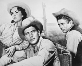 Giant James Dean Elizabeth Taylor Rock Hudson 16x20 Canvas Giclee - $69.99