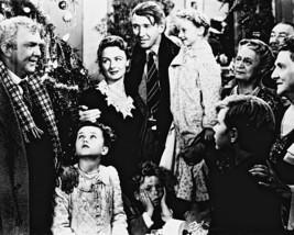 It'S A Wonderful Life James Stewart Christmas 16x20 Canvas Giclee - $69.99