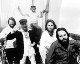 The Beach Boys 16x20 Canvas Giclee Brian Wilson Group On Yacht - $69.99