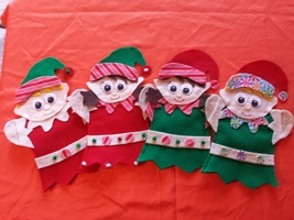 Christmas Elf Hand Puppet - $11.99
