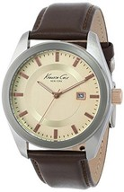 Kenneth Cole New York Men's KC8019 Classic Brown Dress Strap Watch  - $69.95