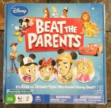 Disney Beat The Parents Family Board Game Kids vs Parents Spin Master Ga... - $9.89