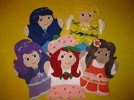 Strawberry Shortcake hand Puppets - $34.99