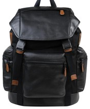 $595 NWT COACH Trek Pack Men's Perforated Leather Backpack F54777  - $275.00