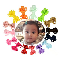 """40 Pcs 2"""" Girls Grosgrain Ribbon Boutique Hair Bows Clip For Girls Toddlers - $8.98"""