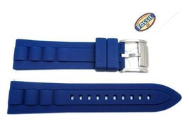 22 mm  Authentic Fossil Watch Bands Straps Navy... - $25.00