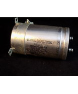 ELECTROLYTIC CAPACITOR GENERAL ELECTRIC 15600UF 50VDC 65 Surge 86F169M - $22.23