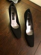 Stuart Weitzman Women's  Lame Fabric Mid Heel P... - $20.56