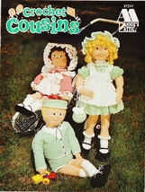 Annies Crochet Cousins Crochet Patttern Booklet 87C41 1997 - $7.50