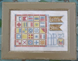 Learn Your ABZ's #11 To The Beach cross stitch chart Hands On Design - $5.40