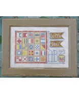 Learn Your ABZ's #11 To The Beach cross stitch ... - $5.40