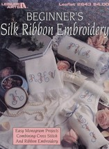 Beginner's Silk Ribbon Embroidery Cross Stitch Pattern - 30 Days to Shop... - $2.22