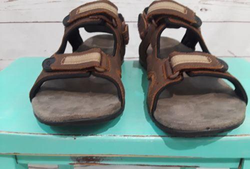 Mens Merrell Camer Convertible  Dark Earth Sandals size 10