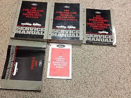 1995 Ford F-150 F250 F-250 350 Bronco Service Shop Repair Manual Set W E... - $346.49