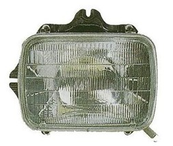 1989-1995 TOYOTA PICK UP LH HEADLAMP WITH HALOGEN LAMPS SEALED BEAM TYPE - $47.53