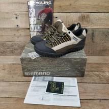 NWT Shimano SPD SH-M033 Tan & Taupe Cycling Shoes Sz 38 EU 5 US Bicycle Cycle - $29.65