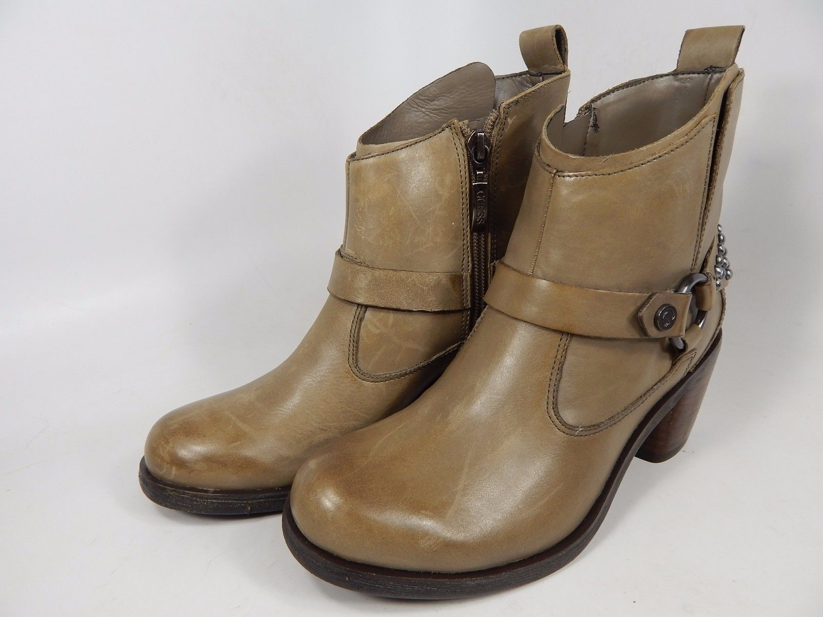 Guess Morelli Ankle Boots Women's Size US 6 M (B) Brown $159