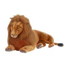 "Hansa Plush - 70"" Extra Large Laying Male Lion - $906.13"