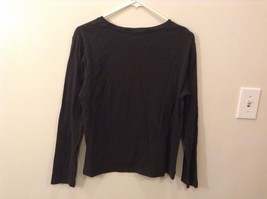 The Limited L 100% Cotton Black Long Sleeve Shirt Good Condition image 4
