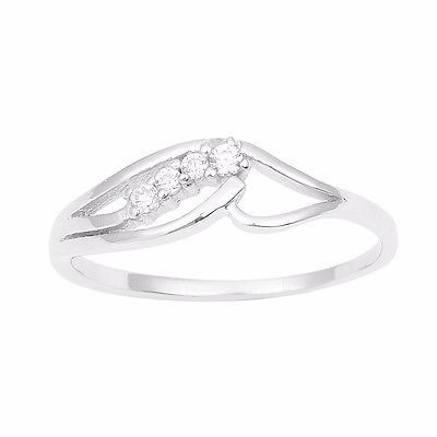 Model Collection women Jewelry Sterling Cubic Zirconia Stone Ring Sz 10 SHRI0908