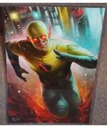 Reverse Flash Glossy Art Print 11 x 17 In Hard Plastic Sleeve - $24.99