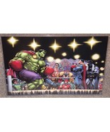 Hulk vs Superman Boxing Match Glossy Art Print ... - $24.99