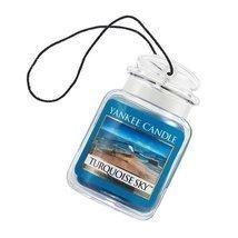 Yankee Candle Car Jar Ultimate Hanging Air Freshener, Turquoise Sky - $267,02 MXN