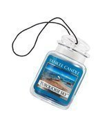 Yankee Candle Car Jar Ultimate Hanging Air Freshener, Turquoise Sky - £10.75 GBP