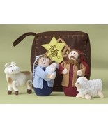 This Whimsical Six-Piece Plush Nativity Set Is ... - $15.99